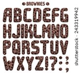 Brownie Font. Full Abc Part 1 ...