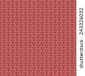 japanese traditional pattern  ... | Shutterstock .eps vector #243326032