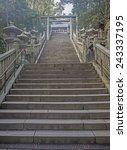kochi  japan dec 2  2014 path... | Shutterstock . vector #243337195