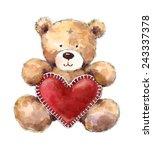 Valentine's Day Teddy Bear...