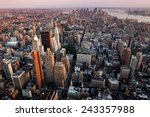 new york city manhattan... | Shutterstock . vector #243357988