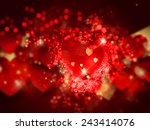 Decorative Heart Background Fo...