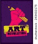 Art Revolution Creative Poster...