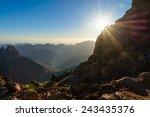 Egypt  Sinai  Mount Moses. Vie...