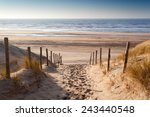 Sand Path To North Sea At...