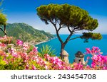 scenic picture postcard view of ... | Shutterstock . vector #243454708