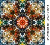 art abstract seamless pattern | Shutterstock .eps vector #243464545