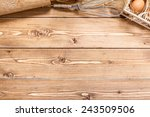 ingredients for baking  with... | Shutterstock . vector #243509506
