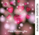 wedding invitation | Shutterstock .eps vector #243520726