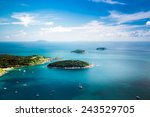 Tropical Ocean Landscape With...