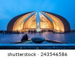 The Pakistan Monument Is A...