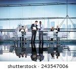 diversity business people... | Shutterstock . vector #243547006