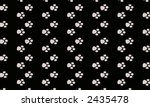 paw print pattern | Shutterstock . vector #2435478