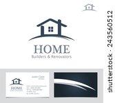real estate business sign  ... | Shutterstock .eps vector #243560512