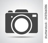 photo camera icon illustration