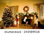 Christmas Holiday Living Room...