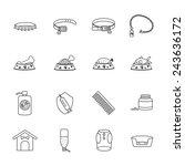 pet shop icon | Shutterstock .eps vector #243636172