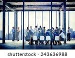 business organization people... | Shutterstock . vector #243636988