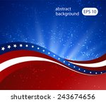 abstract illustration of the... | Shutterstock .eps vector #243674656