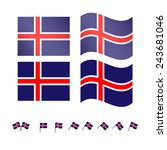 Iceland Flags