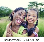 african family happiness... | Shutterstock . vector #243701155
