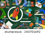 new business chart innovation... | Shutterstock . vector #243701692
