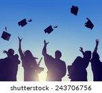 celebration education... | Shutterstock . vector #243706756