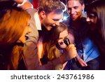 Happy Friends Singing Karaoke...