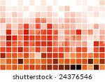 orange cubic professional... | Shutterstock . vector #24376546
