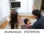 tv watcher | Shutterstock . vector #243769156