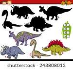 cartoon vector illustration of... | Shutterstock .eps vector #243808012