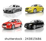 car automobile contemporary... | Shutterstock . vector #243815686