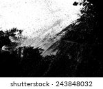 grunge black and white distress ... | Shutterstock .eps vector #243848032