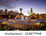 san diego's balboa park at... | Shutterstock . vector #243877948