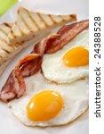 Breakfast   Toasts  Eggs  Bacon