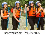 White Rafting Water Group Of...