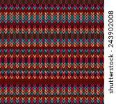 seamless ethnic geometric...   Shutterstock .eps vector #243902008