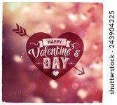 Happy Valentines Day. Creative...