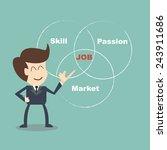coach job selection   choose a... | Shutterstock .eps vector #243911686
