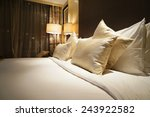 image of comfortable pillows... | Shutterstock . vector #243922582