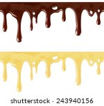 isolated seamless repeatable... | Shutterstock .eps vector #243940156