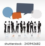 business people vector | Shutterstock .eps vector #243942682