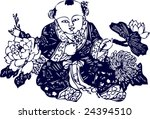 vector of traditional ancient... | Shutterstock .eps vector #24394510