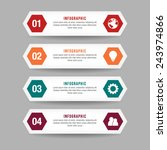 professional hexagon... | Shutterstock .eps vector #243974866