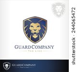 lion logo symbol  lion symbol... | Shutterstock .eps vector #244065472