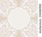 vintage background  antique... | Shutterstock .eps vector #244080982