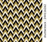 vintage chevron pattern of... | Shutterstock .eps vector #244116262