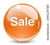 sale icon | Shutterstock .eps vector #244124785