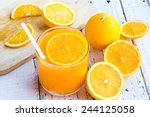 be cut to remove the orange... | Shutterstock . vector #244125058