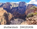 the steep and scenic natural... | Shutterstock . vector #244131436